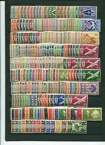 FREE-FRANCE-COLONIES-1942-1946-LONDON-ISSUES-22-COMPLETE-PERFECT-MNH-SETS