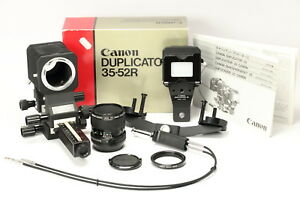 Canon-New-FD-50mm-1-3-5-Macro-Objektiv-Auto-Bellows-Balgen-Duplicator-35-OVP
