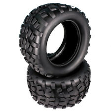 2pcs Stone Patterns Rubber Tire OD 125mm RC 1/10 Monster Truck Big Foot Truggy