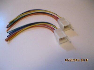 2 Kubota 9 Pin Radio Wire Harnesses Tractor RTV Plug CD Player In Dash  Stereo | eBayeBay