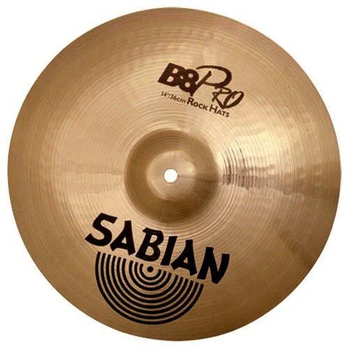 SABIAN BECKEN B8 Pro Rock Hats 14″ Ø 36 cm HI-HAT NEU heller und lauter Klang