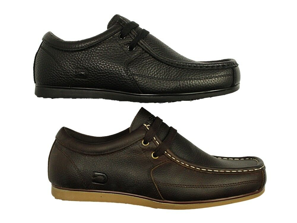 Mens Nicholas Deakins Smart Casual Leather Lace Up schuhe Office Work Stiefel