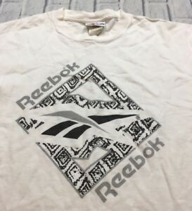 a1d6935ef5c55f 90s VTG REEBOK SHAQ Shaqnosis ABOVE THE RIM L OG Basketball T Shirt ...