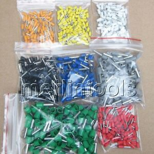 800Pcs-Wire-Copper-Crimp-Connector-Insulated-Cord-Pin-End-Terminal-1-to-3-4mm