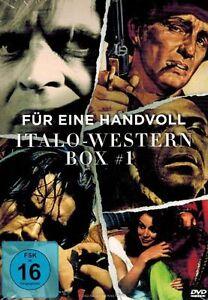 DVD-BOX-NEU-OVP-Fur-eine-Handvoll-Italo-Western-Box-1-3-Spielfilme
