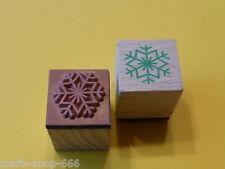 Motivstempel  Eisblume  Eiskristall  Stempel   Weihnachten #25    20x20mm
