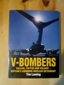 A-V-Bombers-hardback-book-By-Tim-Laming-Britain-039-s-airborne-nuclear-deterrent