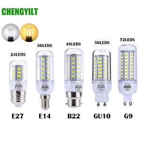 e27 e14 led mais birne 2w 10w 5730smd licht warmweiss weiss lampe 110v 220v ebay. Black Bedroom Furniture Sets. Home Design Ideas