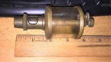 Old Brass Steam Engine Oiler Lubricator Hit Miss Gas Engine Antique Steampunk