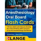 Anesthesiology Oral Board Flash Cards by Jeff Gadsden, Dean P. Jones (Cards, 2010)