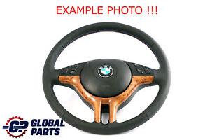 BMW-X5-Serie-E53-Neuf-Cuir-Noir-Volant-Sport-3-Rayon