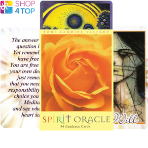 Spirit-Oracle-Deck-Cards-Esoteric-Fortune-Telling-Blue-Angel-New