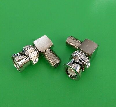 2 PCS USA Seller N Right Angle Female to Female Connector