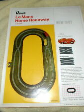 Revell 1967 Le Mans Home Raceway full-color two-sided Flyer slot car NOS #3