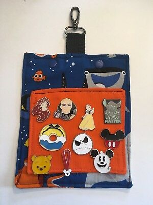 Dory Lanyard and 5 Disney Park Trading Pins Starter Set ~ NEW Finding Nemo
