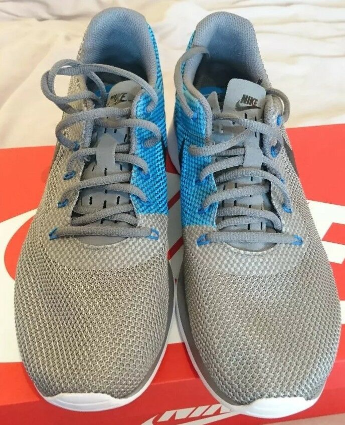 Nike 921669 Tanjun Racer Uk 8.5 Gris bleu blanc  921669 Nike 006 Hommes Trainers Gunsmoke d2171b