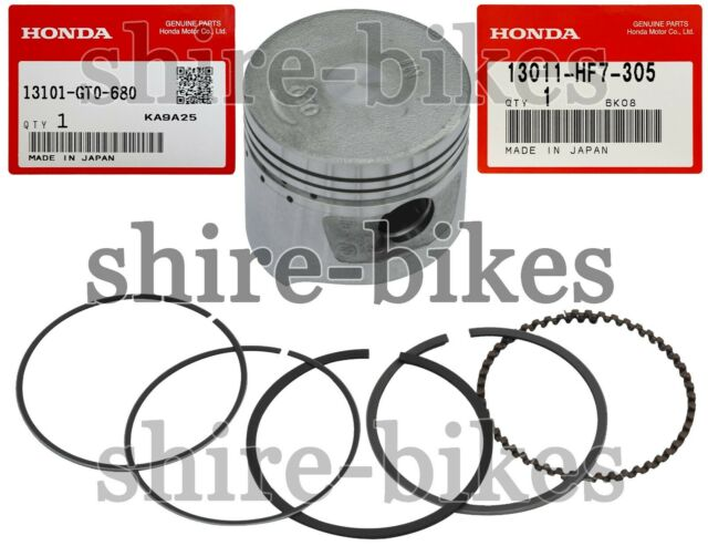 1983-2003 1.00 oversize Honda C90 Cub piston kit complete 48.00mm bore size