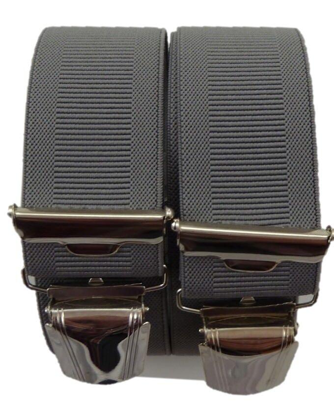 feine elegante Hosenträger, 4 extra starke ABC-Clips, Blitzversand, 35 mm breit