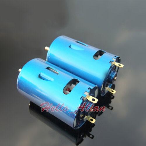 DC 6V-24V 12V 15000RPM High Speed Low Torque RS-550 DC Motor DIY Car Boat Model