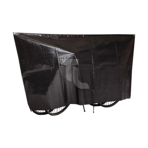 VK Vélo Housse de protection vélo couverture pour 2 vélos Roller Noir 250x130cm