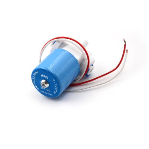 "0-120PSI 24V DC G1//4/"" solenoid valve Plastic valve Normally Closed 2-Way Valve ."