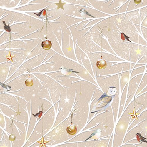 by 1//2 yd 25840 A FABRIC Quilting Treasures ~ WOODLAND FRIENDS ~ Sarah Summers