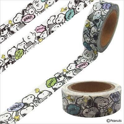 Snoopy Peanuts Spike Washi Masking Tape