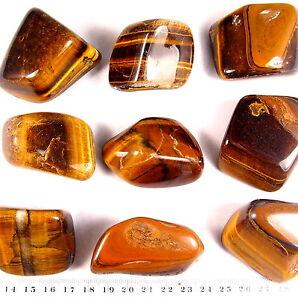 rießige AAA Qualität XXL Jumbo Tigerauge Trommelsteine 4 - 6 cm groß Edelsteine