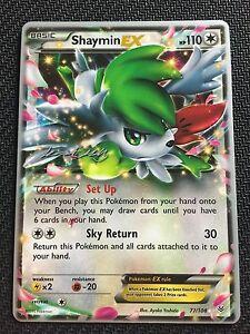 Pokemon-TCG-SHAYMIN-EX-77-108-World-Championship-PROMO
