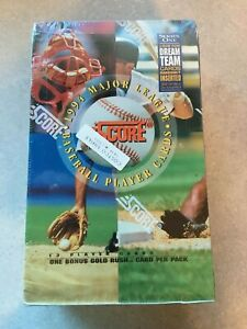 1994-Score-Baseball-Series-1-Factory-Sealed-Box-36-Packs-DREAM-TEAM-CARDS
