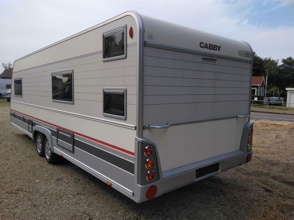 Cabby 740+ F2C, 2011, kg egenvægt 1702