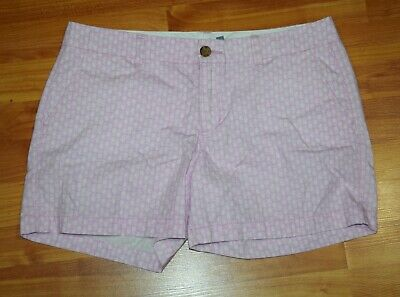 Shorts Old Navy Women's Sz 8 Pink Pineapple Print Chino Twill Shorts Euc To Adopt Advanced Technology Clothing, Shoes & Accessories