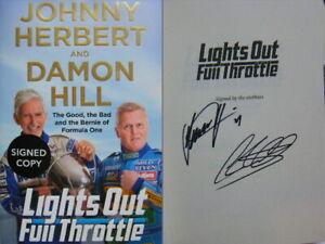 Duel-Signed-Lights-Out-Full-Throttle-by-Damon-Hill-amp-Johnny-Herbert-Hdbk-1st-Ed