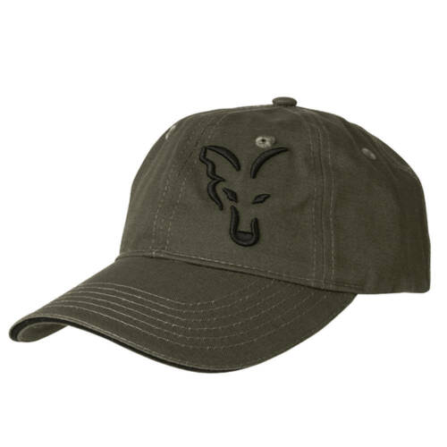 Fox Baseball Cap Green//Black Casquette Basecap Neuf 2018