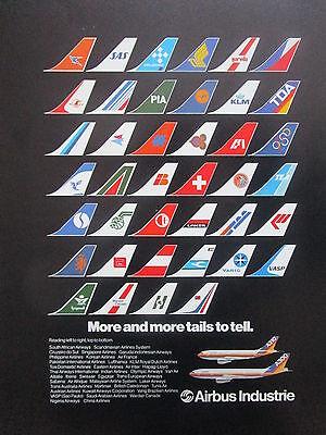 1//1981 PUB AIRBUS A300 AIRLINER LAKER AIRWAYS AIRLINES ORIGINAL AD