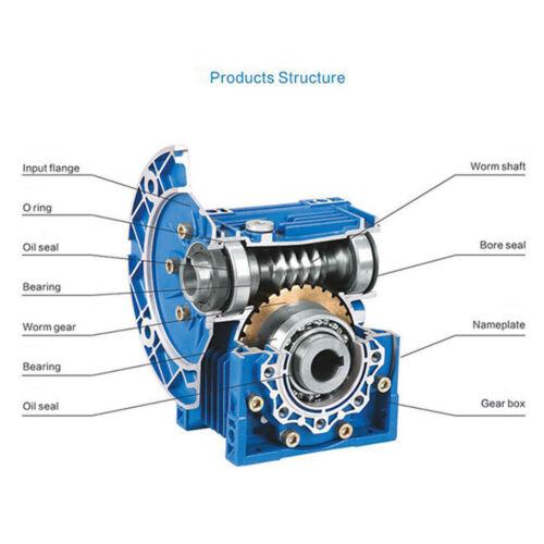 300W Worm Gear Reducer Gearbox Electric RV Gear Motor High Torque DC12V//24V