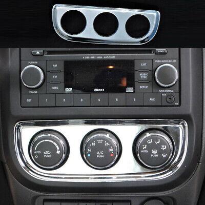 Air Condition Adjust Switch P anel Chrome Cover Trim for Patriot Compass 11-15