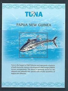 PAPUA NEW GUINEA 2017 TUNA FISHERY SOUVENIR SHEET UNMOUNTED MINT, MNH