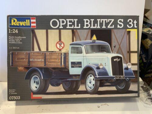 REVELL 07503 OPEL BLITZ S 3T Truck Still FACTORY SEALED MODEL Kit 1:24 RARE
