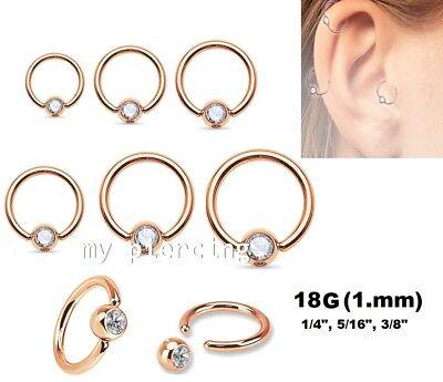 "2pcs.14g~3//8/""~10mm Steel Hexagon Captive Rings,Earring"