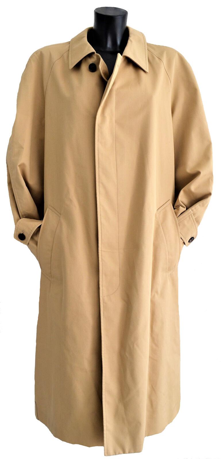 Giubbotto Jacket Aquascutum London Giacca Trench Beige Uomo Man Jacket Giubbotto 68674b
