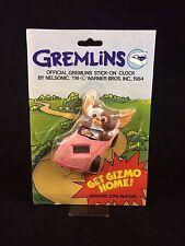 Get Gizmo Home Toy Gremlins Spielzeug NEU OVP RAR SELTEN Uhr Videospiel Clock