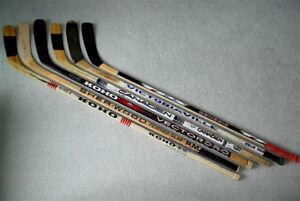 PAT-VERBEEK-FUTURE-HOF-WINGS-Game-Used-Hockey-Stick-2-w-COA-522-GOALS