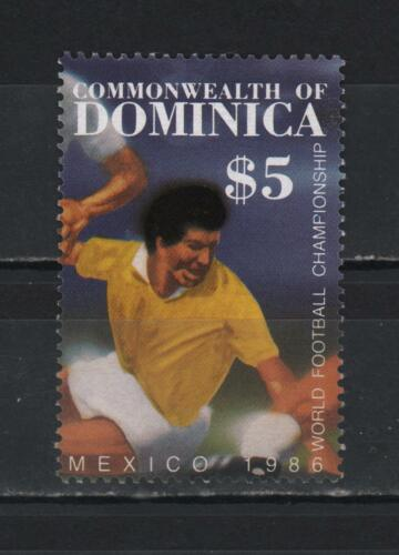 DOMINICA 1986 WORLD FOOTBALL CHAMPIONSHIP MEXICO SC #939