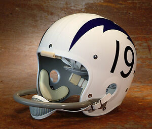 San Diego Chargers 19 Football Helmet Decals Numbers