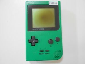 Z11816-Nintendo-Gameboy-pocket-console-Green-GBP-Japan-x-DHL
