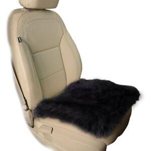 Image Is Loading Zone Tech Black Faux Sheepskin Car Seat Home