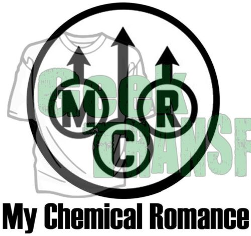 my chemical romance iron on T Shirt heat Transfer gerard way ray toro frank lero