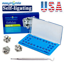 1pc Easyinsmile Dental Self Ligating Metal Bracket Brace Orthodontic Rothmbt022