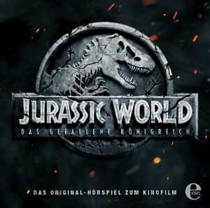 JURASSIC-WORLD-2-ORIGINAL-HORSPIEL-ZUM-KINOFILM-CD-NEW